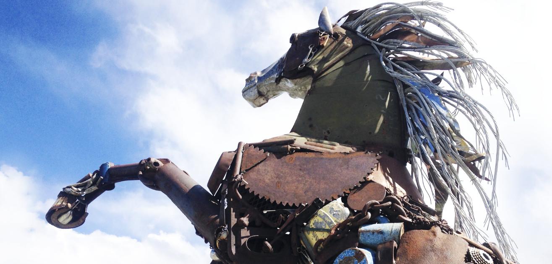 AK-Metall-Pferd