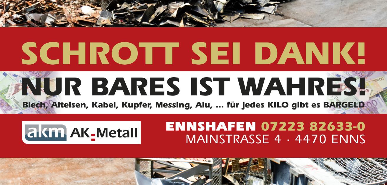AK-Metall-Plakat